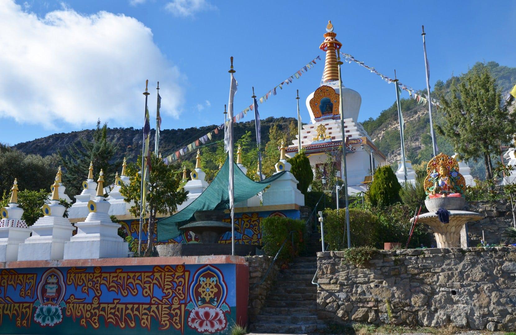 Monasterio budista de Panillo